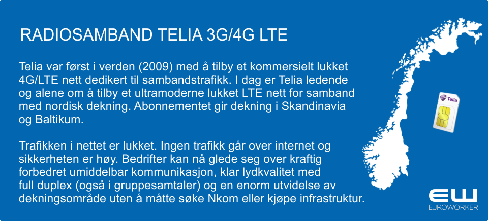 RADIOSAMBAND TELIA 3G/4G LTE