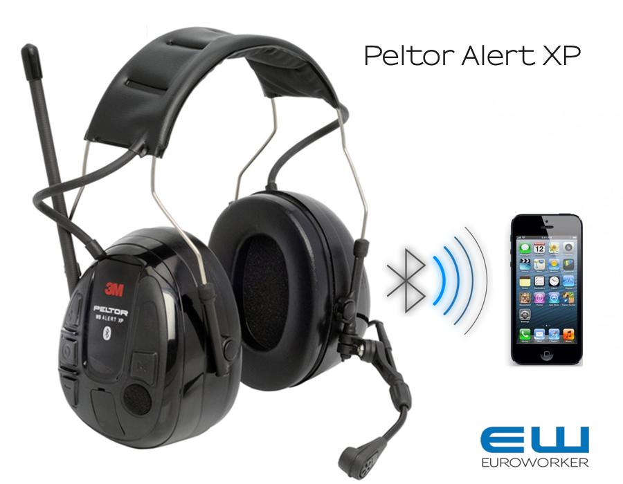 3M Peltor WS Alert XP (Bluetooth Headset med FM Radio og Omgivelseslyd)-  MRX21P3EWS5 - MRX21AWS5 8285489e790e8
