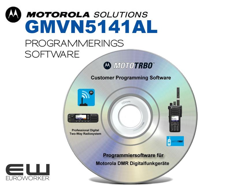 Motorola GMVN5141AL MOTOTRBO Programming Software