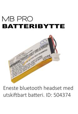 Sennheiser DW & MB serie - Ekstra batteri