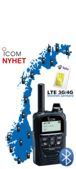 Icom IP501H LTE radio