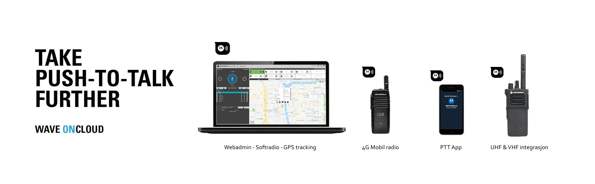 Motorola WAVE OnCloud Push-to-Talk