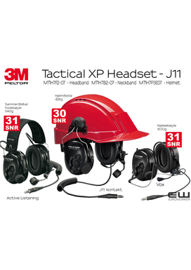 3M Peltor Tactical XP Industri Headset