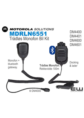 Motorola Bluetooth Monofon Bil Kit  (MDRLN6551) (DM4000)