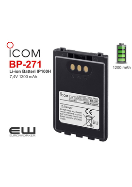 Icom BP-271 - batteri til IP100H Radio
