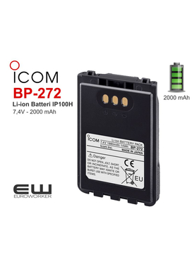Icom Icom BP-273 - batteri til IP100H Radio
