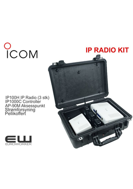 Komplett Icom IP100H Radio Communication Kit