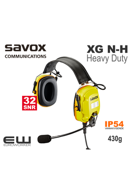 Savox XG N-H Heavy Duty Headset