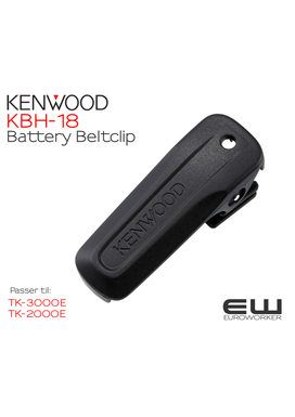 Kenwood KBH-18 Battery Beltclip   (TK-3000E & TK-2000E)