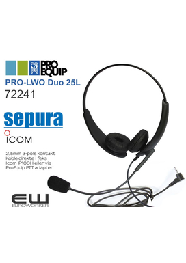 ProEquip PRO-LWO Single 25L Headset (IP100H)