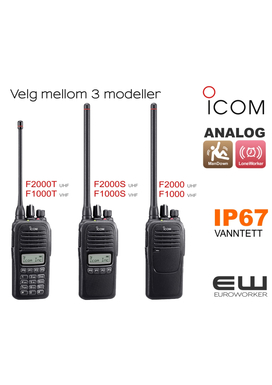 ICOM IC-F2000 UHF RADIO