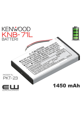 Kenwood batteri KNB-71L (PKT-23)
