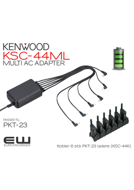 Kenwood KSC-44ML MULTI AC ADAPTER (PKT-23)