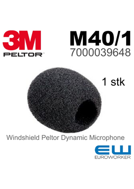3M Peltor M40/1 - Windshield Dynamic Microphone (7000039648) (Litecom Pro II)