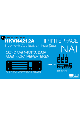 Motorola  HKVN4212A  MOTOTRBO Network Application Interface Lisens (SLR5500)