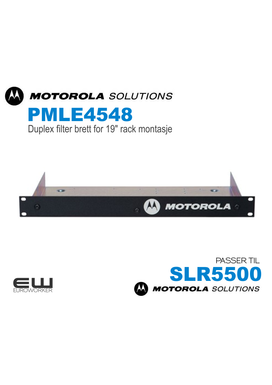 "Motorola PMLE4548 Duplex filter brett for 19"" rack montasje   (SLR5500)"