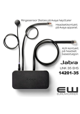 Jabra Kabel EHS for Avaya 1600/9600