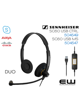 Sennheiser Culture SC 600 USB MS & CTRL (Duo)