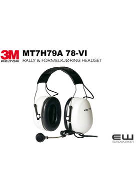3M PELTOR Rally headset MT7H79A 78-VI