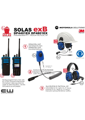 Motorola Atex Scrap Kampanje! SOLAS exB - DP4401Ex/DP4801Ex & PMMN6368 & IS Tactical XP Headset