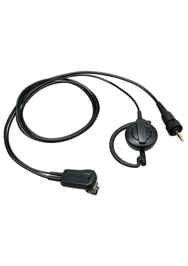 Kenwood EMC-14 Headset(Clip microphone with Earphone (ear-hanging)