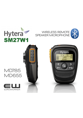 Hytera  SM27W1  Wireless Remote Speaker Microphone