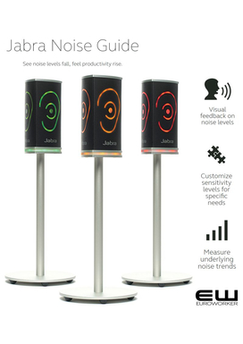 Jabra Noise Guide - See noise levels fall,  feel productivity rise