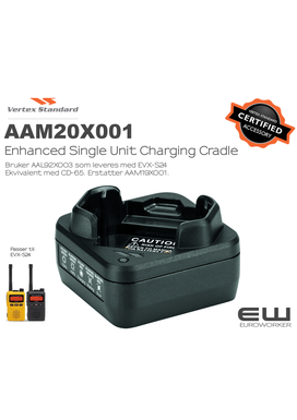 Vertex Enhanced Single Unit Charging Cradle (CD-66, AAM20X001)