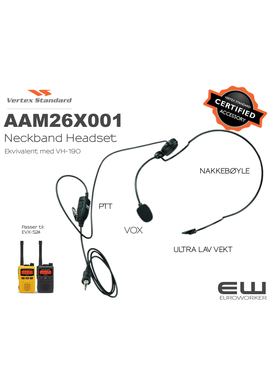 Vertex Behind the Head VOX Lightweight Headset (AAM26X001)