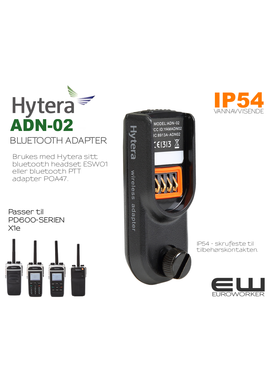 Hytera ADN-02 Bluetooth Adapter til PD6-serien