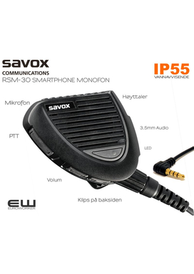 Savox RSM-30 3,5mm monofon for Smartphone