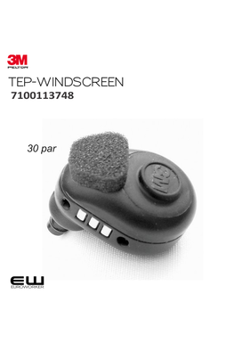 3M Peltor Windscreen (TEP- &  LEP-serie) - 7100113748