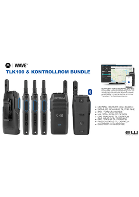 Motorola WAVE Dispatch & TLK100 LTE & WiFi Radiosamband