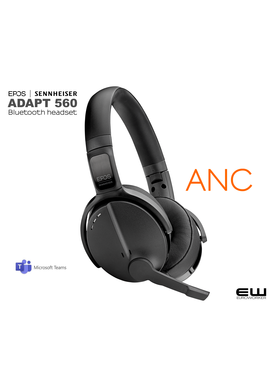 Sennheiser | EPOS ADAPT 560 Bluetooth headset (ANC, Teams)