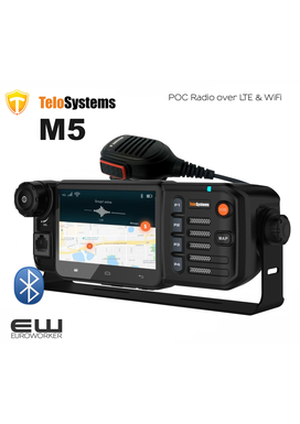 M5, 31054, Telo M5 Mobile POC radio (LTE, WiFi, IP54, BT)