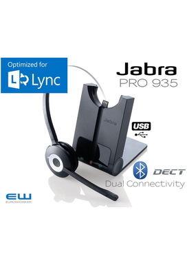Jabra 935 Dect Headset for mobil og PC