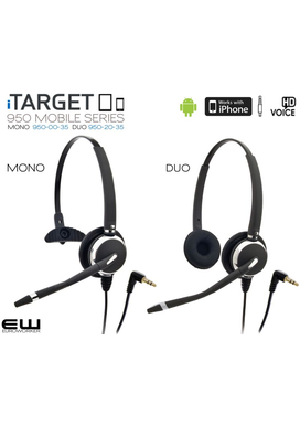 iTarget Mobile Headset (Mono &/ Duo)