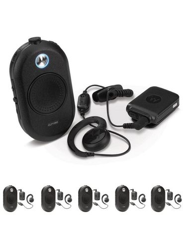 Motorola CLP446 Bluetooth Kit 6 pack
