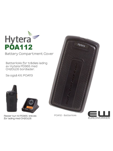 Hytera POA112 Battery Compartment Cover (PD365)