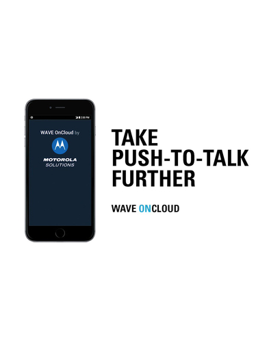 Motorola WAVE OnCloud Push-to-Talk app