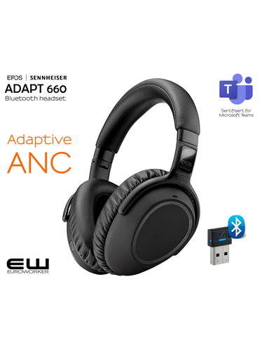 EPOS | Sennheiser ADAPT 660 (ANC, Teams)