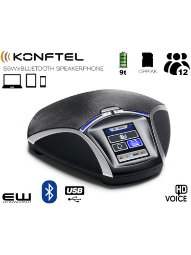 Konftel 55Wx Conference Phone (USB & Bluetooth) - 910101082